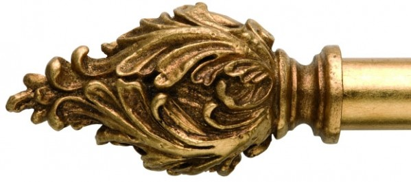 """Seraphine Finial for 1"""" Curtain Rod~Pair"""