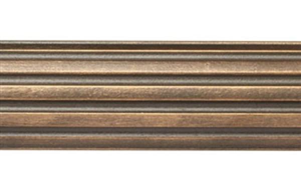 8 Fluted Wood Curtain Rod Pole1 38 Rod Diameter