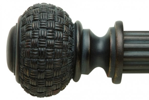 """Severn Finial for 1 3/8"""" Curtain Rod~Pair"""