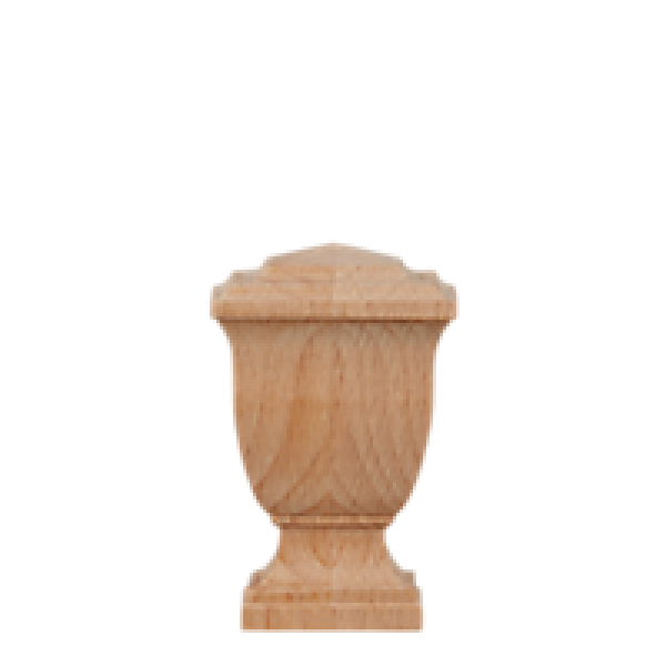 """Unfinished Princeton Finial for 1 3/8"""" Curtain Rod"""