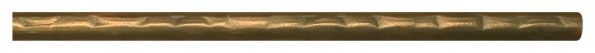 Solid Round Hammered Curtain Rod