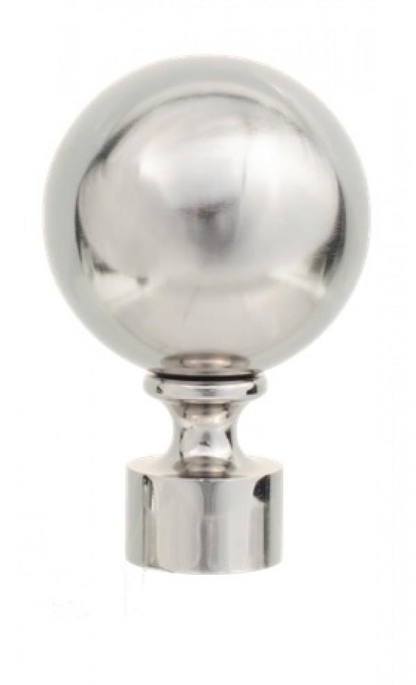 "Sphere Finial for 1 1/8"" Rod ~ Each"