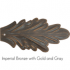 Imperial Bronze with Gold and Gray - +$24.00